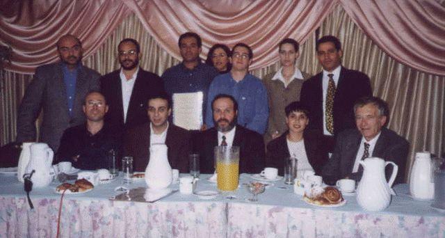בוגרי קורס של מסר אחד בשתפ מגיד האוניברסיטה העברית